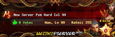 New srv pvm hard lvl 99