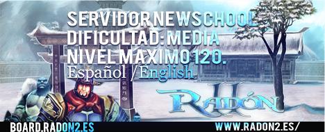 Radón2 - Servidor NewSchool [ES-EN]