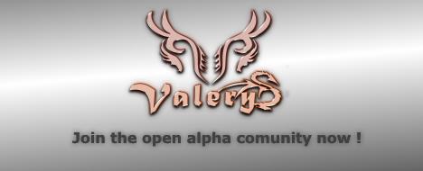 VALERYS - Open Alpha Brainstorming RO