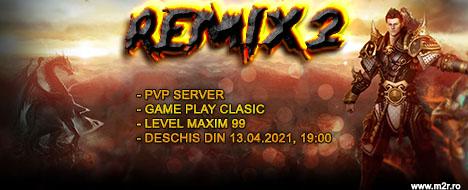 Remix2 - PVP clasic server, lv.99