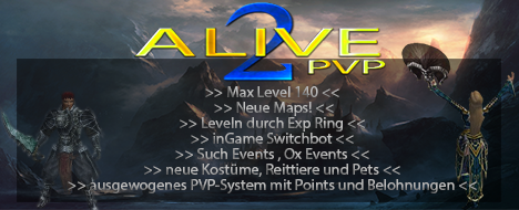 Alive2-PvP ~ Join Us!
