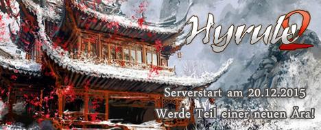 Hyrule2 - Serverstart 20.12.2015 - 16:00 UHR