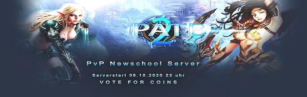 PATE2 ist ein Newschool PvP Fun Server