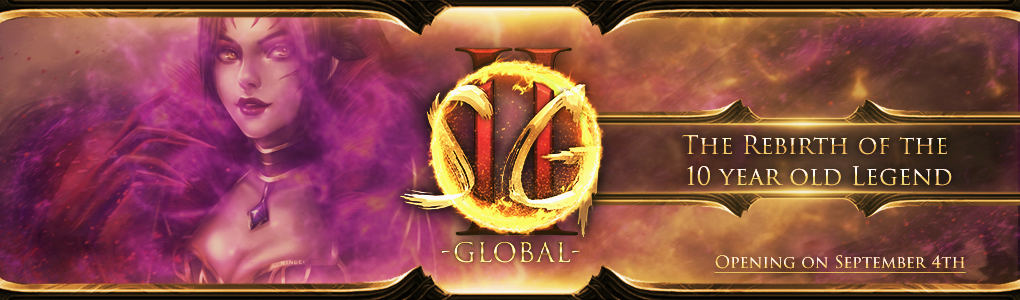SG2Global - Rebirth of a Legend   Online since 04.09.2019