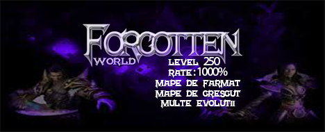 ForgottenWorld Server PvM-PvP 250