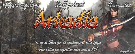 Arkadia-Online - PvP - OUVERTURE