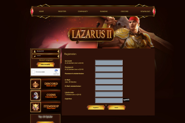 http://www.lazarus2.com/?s=register